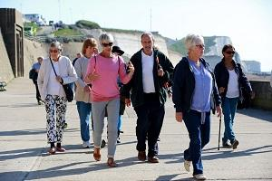 Healthwalks – a great way to stay fit and socialise.